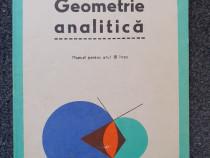 Geometrie analitica manual pentru clasa a xi-a - simionescu