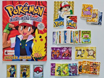 Album Pokemon cu 69 de stickere sau abțibilde