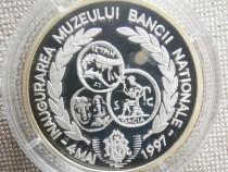 Medali de argint muzeul BNR