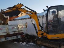 Închiriez excavator pentru diverse săpături fundati fose etc