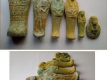 6 statuete egiptene din teracota arsa (1)