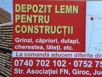 Depozit lemn pentru constructii materiale bune