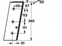 Cutit piston presa de balotat gallignani 145,146,148,4200,45