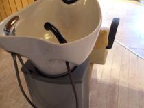 Scafa cu spalator de par salon de coafura frizerie