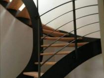 Proiectez si confecționez scari, balustrade si garduri meta