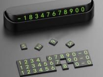 Afisaj retractabil număr telefon pt bordul masinii,magnetic