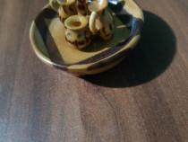 Set ceai miniatură de colecție/vechi/vintage