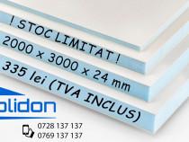 Panel PVC XPS 2000 x 3000 x 24 mm Placa PVC