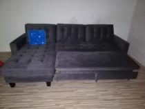Canapea Extensibilă utilizat în stare foarte bună