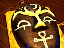 Mască lucrată manual – Mască Faraon