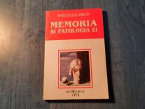 Memoria si patologia ei de Theodule Ribot