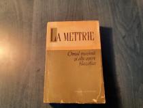 Omul masina si alte opere filozofice La Mettrie