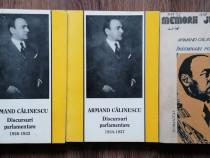 Armand Călinescu Discursuri parlamentare 2 vol +Insemnari