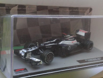 Macheta Williams FW34 Maldonado Formula 1 2012 - Altaya 1/43