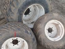 Set roti gazon tractor new holland landini mistral