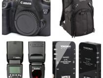 Canon 6D + Blitz Extern Godox TT685C + Trigger + Rucsac
