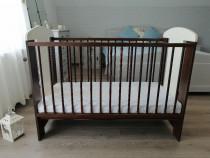 Pătuț pentru bebeluși cu saltea