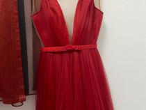 Rochie roșie Ana Radu purtata o singura data