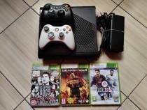 Xbox 360E (ultimul model aparut), 2 controllere, HDD 500GB