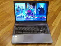 Laptop asus, intel core-i7- quad core, video 4 GB ,18,4 inch