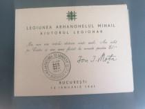 Carnet filatelic Legionar