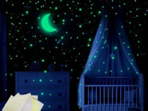 Set 30 stele univers pentru copii stele fosflorescente pe ta