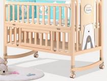 Pat pentru copii din lemn WBBA1
