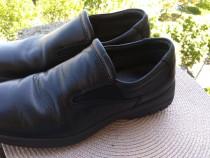 Pantofi piele Ecco, mar 40 (25.5 cm) made in Portugal.