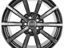 """Janta Aliaj Oe Audi 18"""" 8J x 18 ET46 Negru Mat Titan"""