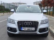 Audi Q5, quattro, piele crem, 2014
