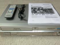 Panasonic combo dublu recorder DVD-VCR