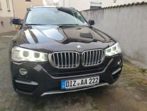 BMW X4 3,0d xdrive,Euro6,webasto,cârlig, Navi,Hi-Fi.