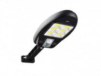 Lampa solara, 48 LED Cob, Panou solar,Senzor de miscare C566