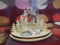 Suport lumanari decorativ Crăciun Iisus transport gratuit