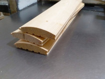 Lambriu semirotund pin nordic calitatea A 19x110x4000