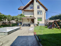 Casa individuala in Avrig - cu pivnita si piscina, teren 450