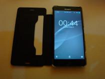 Husa telefon sony xperia z3 compact tip carte