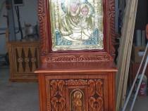 Execut la comanda scaune, troite, usi si mobilier biserica