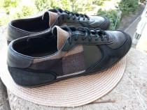 Pantofi sport piele Burberry, mar 42 (27 cm)