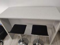 Bar + 2 Scaune de Bar, L150 x l60 x h109 cm