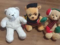 Trei ursuleti de plus 20cm