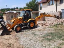 Închiriez Buldo-Excavator