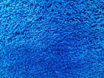 Covor plusat albastru
