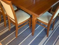 Masa (cu scaune si extra mobilier)