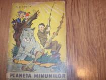 A. Sladkov - Planeta minunilor (1964, rara, ilustrata color)