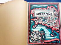 C936-Satele Bretaniei Franta album vechi interbelic st. buna