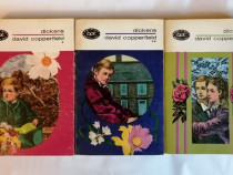 David Copperfield, 3 vol., Ch, Dickens, colectia BPT, 1965