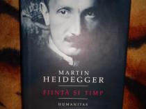 Fiinta si timp - Heidegger ( cartonata )