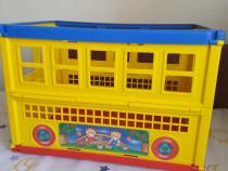 Cutie de depozitare jucarii colorata