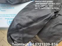 Manusi mecanica negre groase L+M-100buc/cut/min 10 cut.
